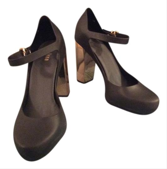 Melissa Black Gold Pumps