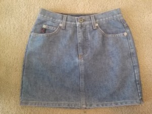 Guess Vintage Mini Skirt blue denim