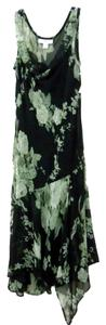 Dress Barn Beaded Sequined Floral Print Dress