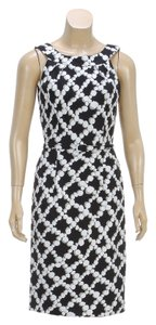 David Meister short dress Black and White on Tradesy