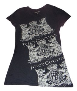 Juicy Couture Petite T Shirt Light Black