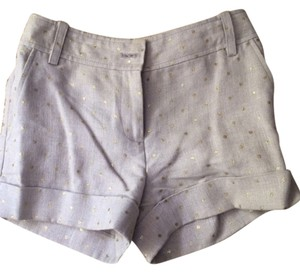 J.Crew Linen Shorts tan gold