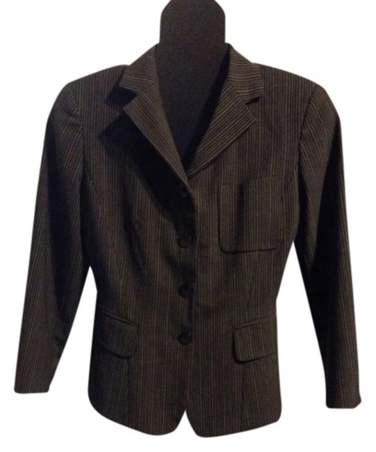 Preload https://item5.tradesy.com/images/barneys-new-york-black-and-gray-classic-styling-blazer-size-4-s-386224-0-0.jpg?width=400&height=650