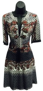 Gucci short dress multicolor, paisley on Tradesy