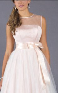 Andrew Adela Blush Pink Dress