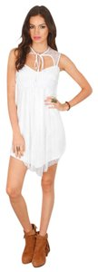Pencey short dress White Dedutante Lace on Tradesy
