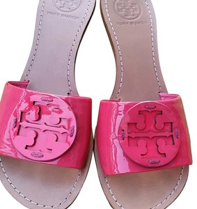 Tory Burch Hot Pink Wedges