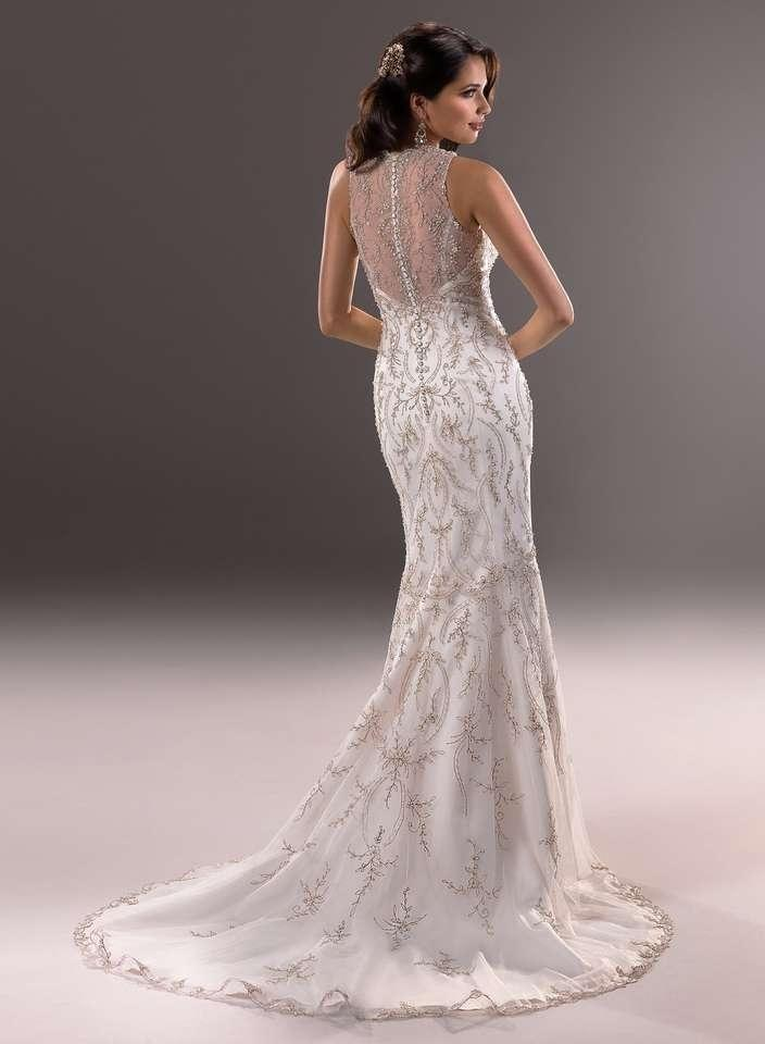 Maggie sottero blakely wedding dress tradesy for Wedding dress with buttons all the way down