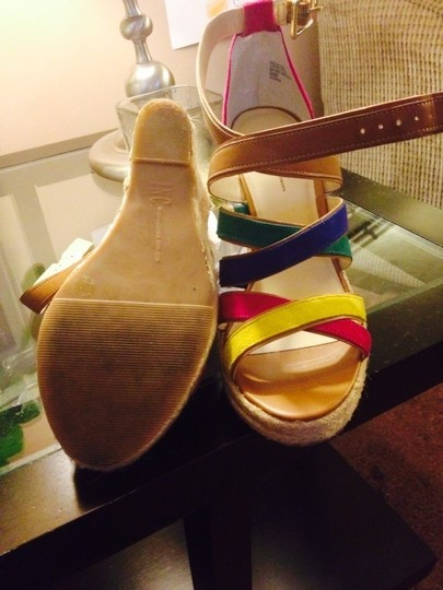 INC International Concepts Yellow, Pink, Blue, Green Wedges