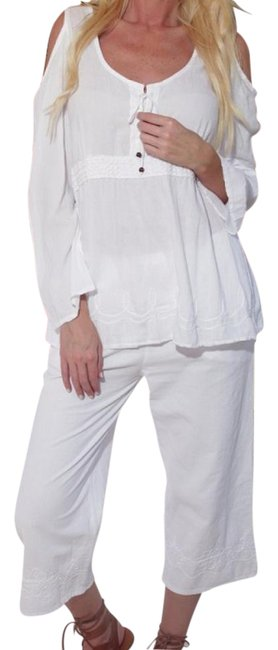 Preload https://img-static.tradesy.com/item/3863374/lirome-white-organic-cotton-pockets-embroidered-vianna-pants-capris-size-4-s-27-0-2-650-650.jpg