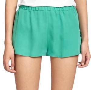 Mason Dash Miami Dash Flowy Mini/Short Shorts Teal/Green