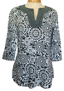 Carole Little Tory Burch Size Medium Tunic
