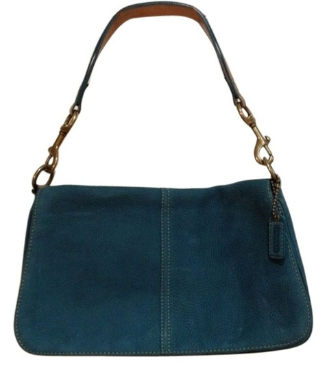 Preload https://item3.tradesy.com/images/coach-turquoise-shoulder-bag-386422-0-1.jpg?width=440&height=440