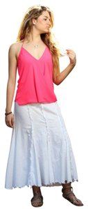Lirome Cottage Chic Boho Resort Beach Skirt White