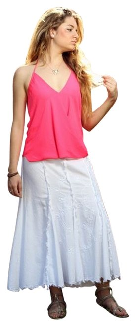 Lirome Embroidered Skirt White