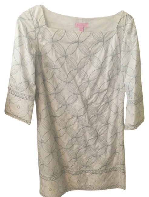 Preload https://item1.tradesy.com/images/lilly-pulitzer-white-lyla-tunic-mid-length-short-casual-dress-size-2-xs-3864430-0-0.jpg?width=400&height=650