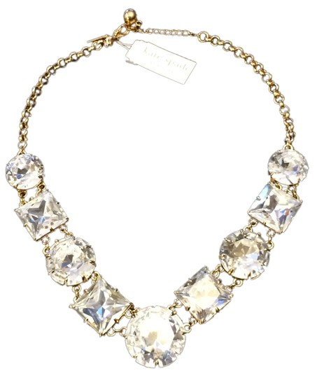 Preload https://img-static.tradesy.com/item/3864433/kate-spade-12k-gold-plate-and-faceted-glass-crystals-classic-kaleidoscope-rare-lobster-clasp-so-no-f-0-0-540-540.jpg