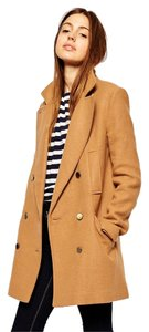 ASOS Wool Fully Lined Four Front Pcokets Pea Coat