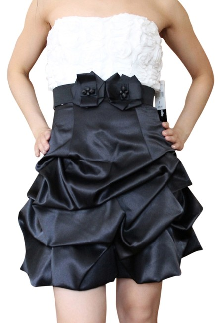 My Michelle Rosettes Ruffles Pleats Dance Prom Homecoming Quinceaneraa Cocktail Party Bar Mitzvah Birthday Dress