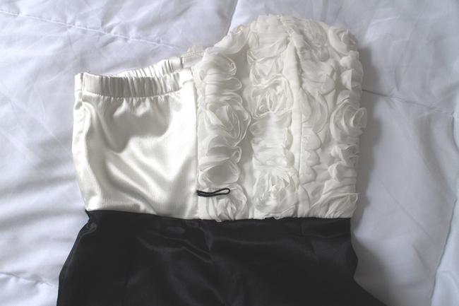 My Michelle Rosettes Ruffles Pleats Dance Prom Homecoming Quinceaneraa Cocktail Party Bar Mitzvah Birthday Dress Image 4