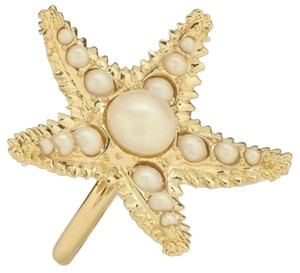 Kate Spade Kate Spade Coral Reef Star Fish Ring NWT From One of the First Kate Spade Collections Size 7