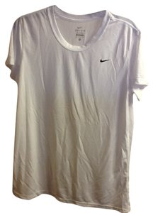 Nike Nike Black Dri-fit Short Sleeve V-neck Tee Shirt