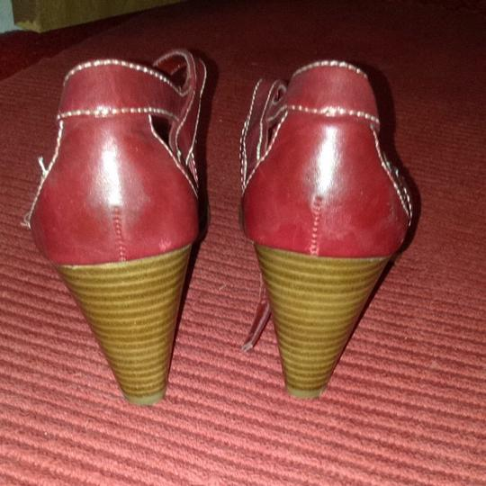 Inlisted Red Sandals