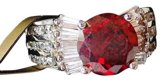 Preload https://img-static.tradesy.com/item/386578/red-topaz-and-white-zircon-925-sterling-silver-cocktail-size-6-ring-0-5-540-540.jpg