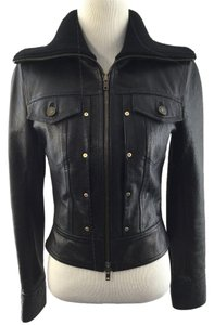 Céline Leather Jacket
