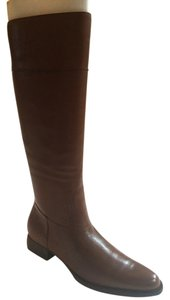 Ralph Lauren Riding Leather Brown Boots