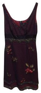 Adrianna Papell Like New. Embroidered. Beadwork Dress