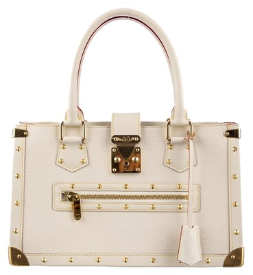 Louis Vuitton Iconic Tote in White
