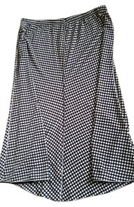 Max Studio Skirt Black and Ivory