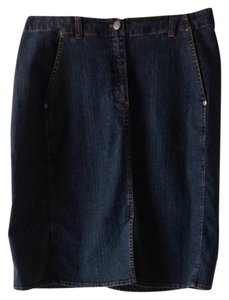 Chico's Classic Weekend Skirt denim