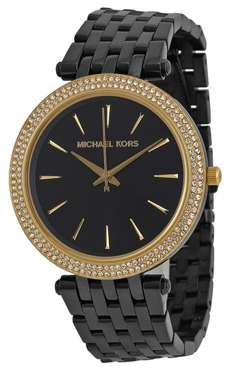 Preload https://item5.tradesy.com/images/michael-kors-michael-kors-crystal-bezel-black-dial-ladies-fashion-watch-3867589-0-0.jpg?width=440&height=440