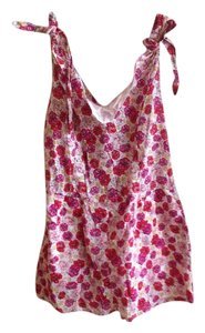 BCBGMAXAZRIA Romper Floral Zipper Dress
