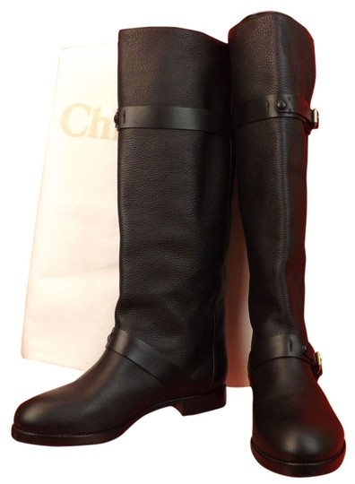 Preload https://img-static.tradesy.com/item/3867703/chloe-black-textured-leather-prince-belted-tall-riding-415-bootsbooties-size-us-105-regular-m-b-0-0-540-540.jpg