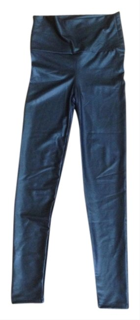 Preload https://item5.tradesy.com/images/forever-21-black-waistband-faux-leather-patent-leggings-size-4-s-27-3867754-0-0.jpg?width=400&height=650