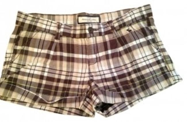 Preload https://item4.tradesy.com/images/abercrombie-and-fitch-browntanwhitesea-foam-green-plaid-stretch-53185422-minishort-shorts-size-4-s-2-38678-0-0.jpg?width=400&height=650