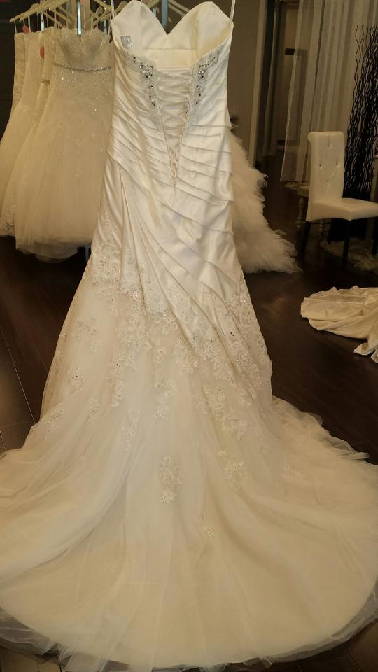 Sophia Tolli Ivory Satin And Tulle Y11317 Cashmere Wedding Dress