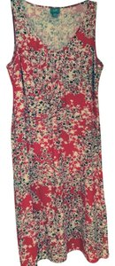 J. Jill short dress Red, white and some brown on Tradesy