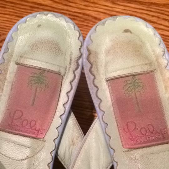 Lilly Pulitzer Pale Blue Sandals