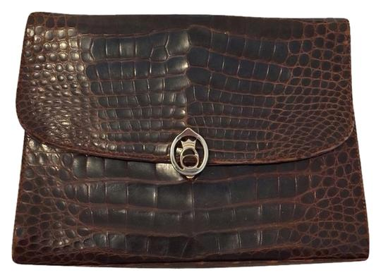Preload https://item1.tradesy.com/images/fred-brown-croc-clutch-3868495-0-0.jpg?width=440&height=440