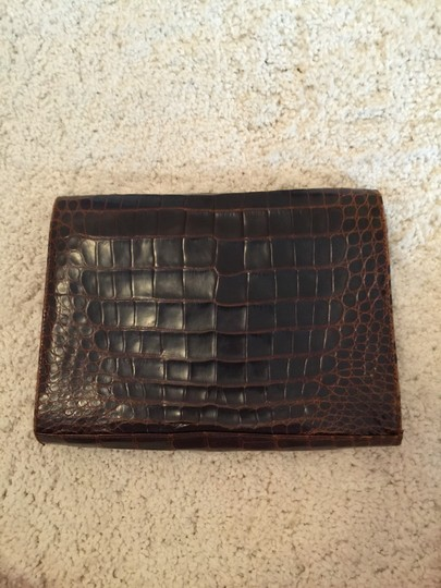 FRED brown Clutch Image 1