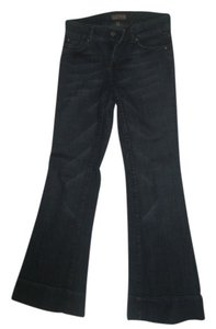 See Thru Soul Boot Cut Jeans-Dark Rinse