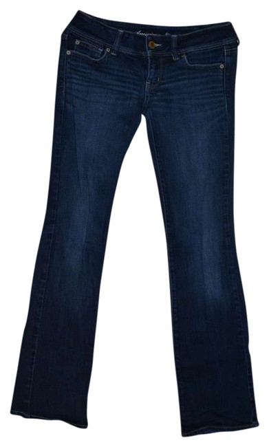 American Eagle Outfitters Boot Cut Pants Dark Resin Wash