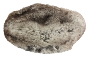 Gilbert Orcel Jr. Gilbert Orcel Jr. Mink Fur Hat - Black/White