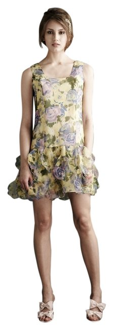 Anthropologie Floral Castle Hill Shift Above Knee Night Out Dress Size 4 (S) Anthropologie Floral Castle Hill Shift Above Knee Night Out Dress Size 4 (S) Image 1
