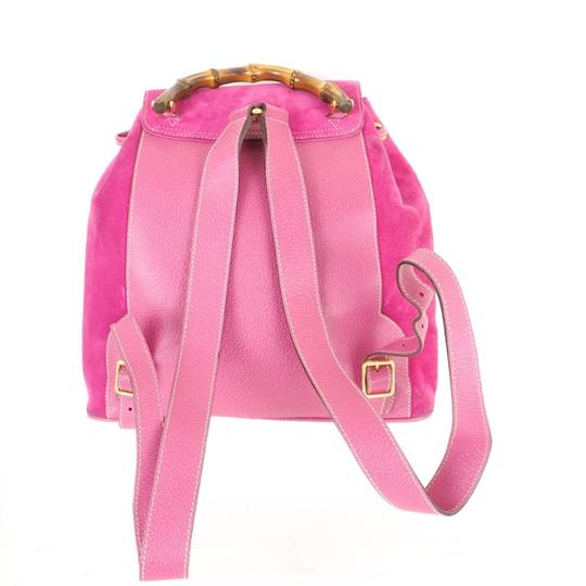 Gucci Vintage Bamboo Backpack Image 1