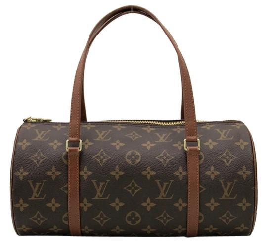 Preload https://item3.tradesy.com/images/louis-vuitton-papillon-30-monogram-browns-coated-canvas-leather-shoulder-bag-3869197-0-0.jpg?width=440&height=440
